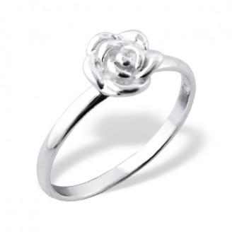 "Stříbrný prsten ""Růže"". Ag 925/1000"